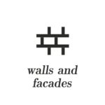 Application terracotta tiles - walls and facades