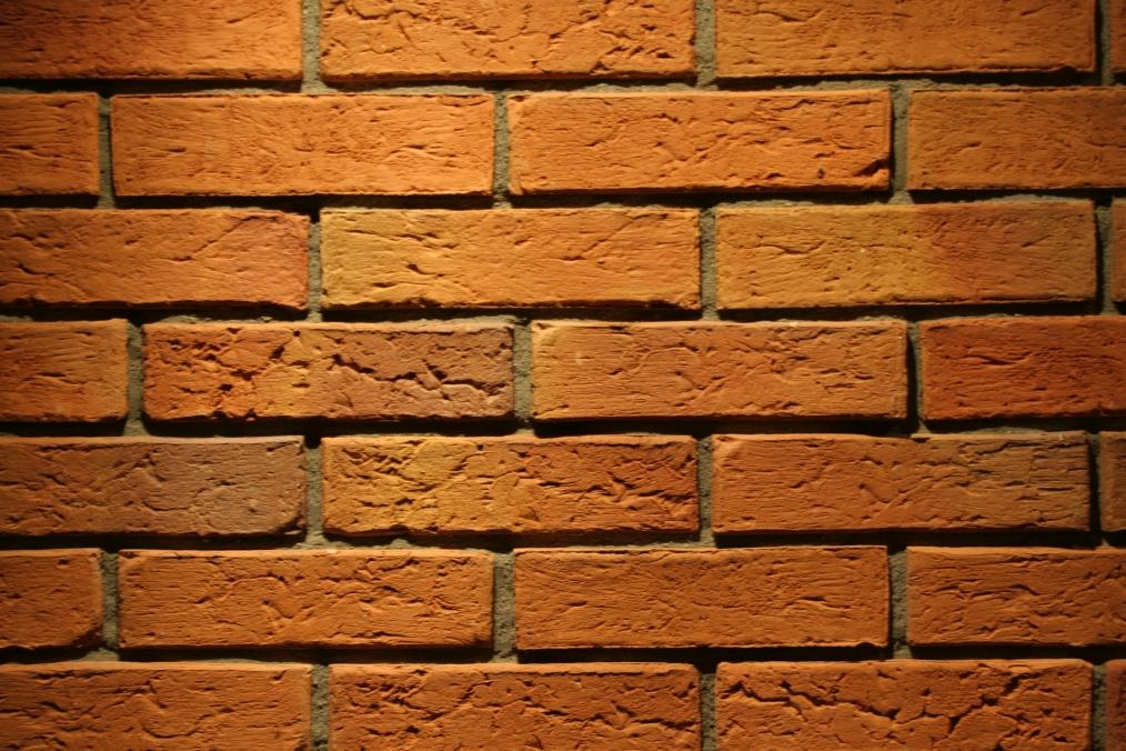 Brick veneer floor tile