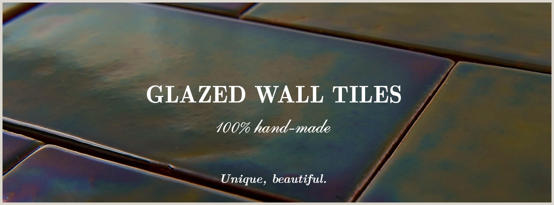 Terracotta tiles - glazed wall tiles